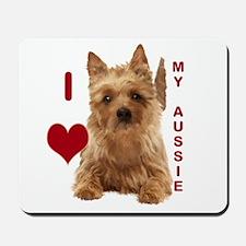 aussie terrier Mousepad
