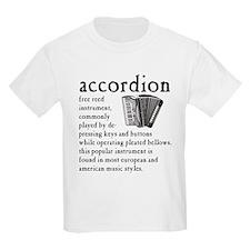 Piano Accordion Definition T-Shirt