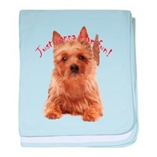 aussie terrier baby blanket