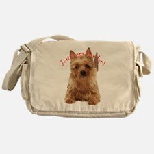 aussie terrier Messenger Bag