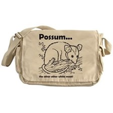 Possum...the other other white meat Messenger Bag