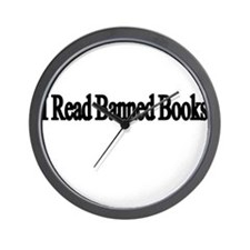 I read banned books Wall Clock