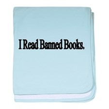 I read banned books baby blanket
