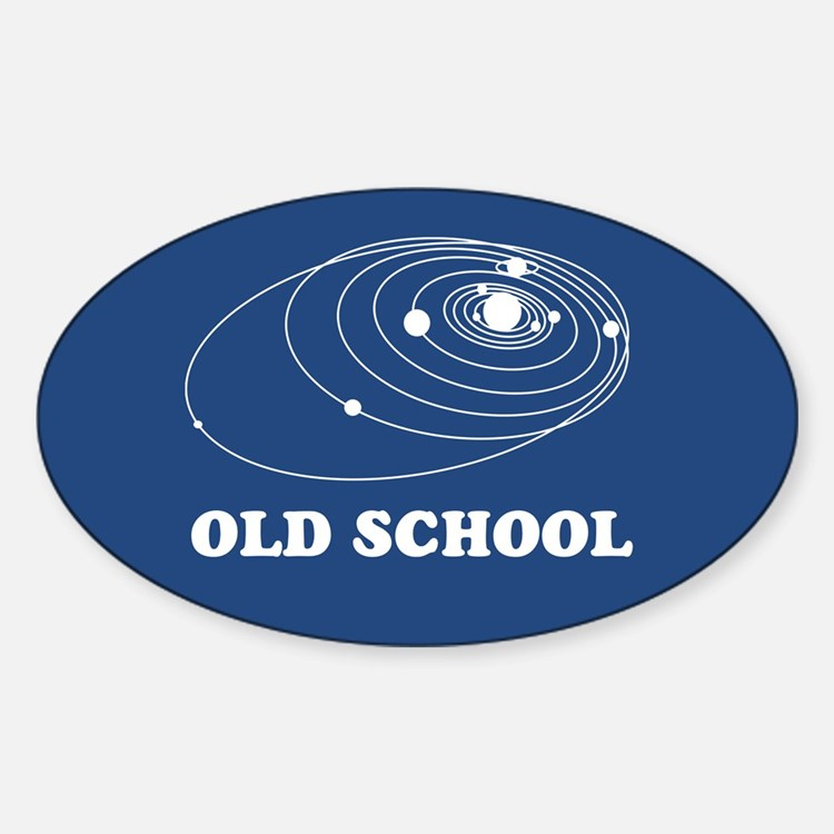 Old School Solar System Decal