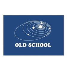 Old School Solar System Postcards (Package of 8)