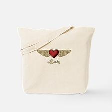 Sandy the Angel Tote Bag