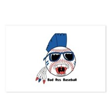 Bad Ass Baseball Postcards (Package of 8)