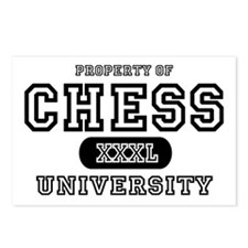 Chess University Postcards (Package of 8)