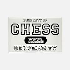Chess University Rectangle Magnet