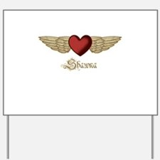 Shawna the Angel Yard Sign