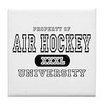 Air Hockey University Tile Coaster