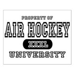Air Hockey University Small Poster