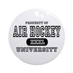 Air Hockey University Ornament (Round)