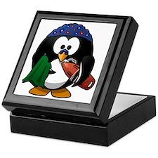 Swimmer Penguin Keepsake Box