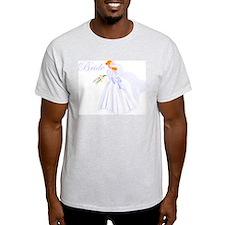 Bride Redhead Ash Grey T-Shirt