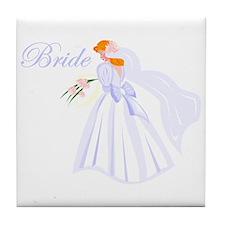 Bride Redhead Tile Coaster