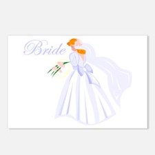 Bride Redhead Postcards (Package of 8)