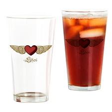 Sheri the Angel Drinking Glass