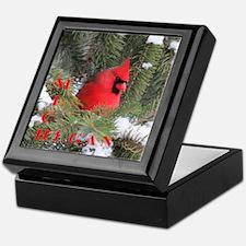 Cardinal Keepsake Box