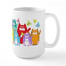 Mug_colorfu-cats Mugs