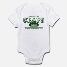Craps University Infant Bodysuit