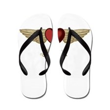 Sophia the Angel Flip Flops