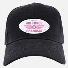 Proud Air Force Grandma W [pink] Baseball Hat