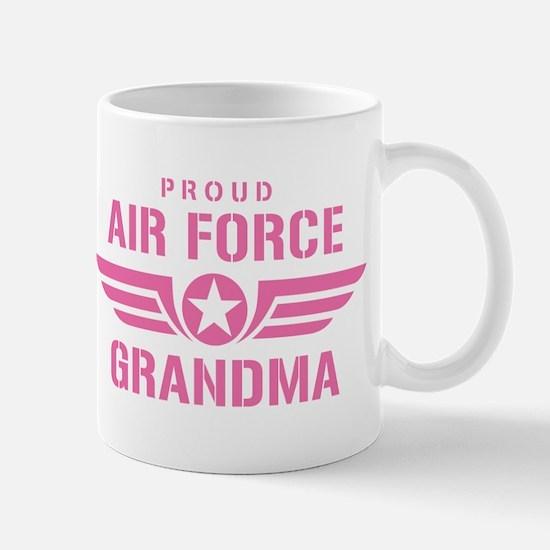 Proud Air Force Grandma W [pink] Mug
