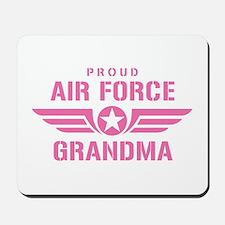 Proud Air Force Grandma W [pink] Mousepad