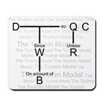 Toulmin's Model - Mousepad
