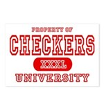 Checkers University Postcards (Package of 8)