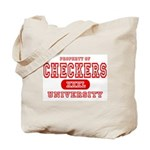 Checkers University Tote Bag