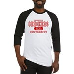 Checkers University Baseball Jersey