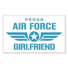 Proud Air Force Girlfriend W Decal