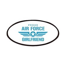 Proud Air Force Girlfriend W Patches