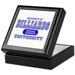 Billiards University Keepsake Box