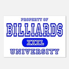 Billiards University Postcards (Package of 8)
