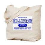 Billiards University Tote Bag