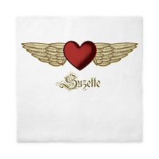Suzette the Angel Queen Duvet