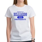 Billiards University Women's T-Shirt