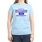 Billiards University Women's Pink T-Shirt