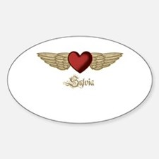 Sylvia the Angel Decal
