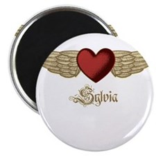 """Sylvia the Angel 2.25"""" Magnet (100 pack)"""