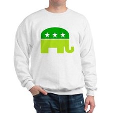 saint patricks dayt elephant Sweatshirt