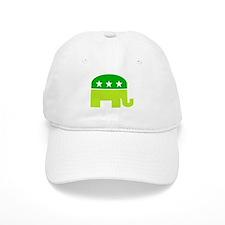 saint patricks dayt elephant Baseball Baseball Cap
