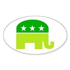 saint patricks dayt elephant Decal