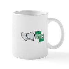 """Home Sweet Home"" Home Plate Mug"