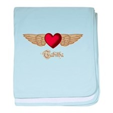 Tabitha the Angel baby blanket