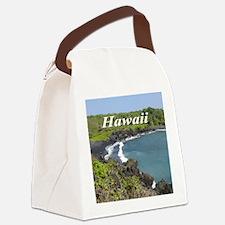 Black Sands Beach Canvas Lunch Bag