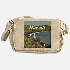 Black Sands Beach Messenger Bag